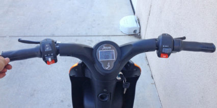 2015 Jetson Bike Display Panel And Switches