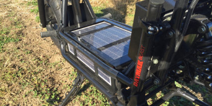 Daymak Beast Standard Integrated Solar Charger On Sla Battery Box