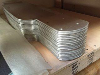 E Glide Gt Hydraulically Pressed Aluminum Decks