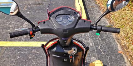 Ecobike Always Led Display Panel Throttle