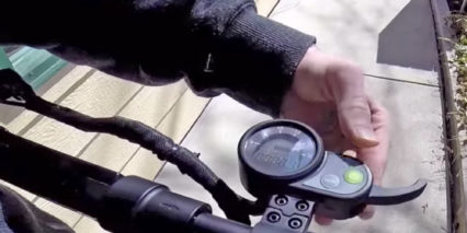 Ecoreco M3 Electric Scooter Display Panel Trigger Throttle
