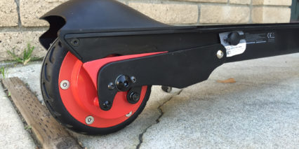 Ecoreco M5 Electric Scooter Rear Suspension