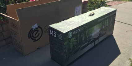 Ecoreco M5 Electric Scooter Shipping Box