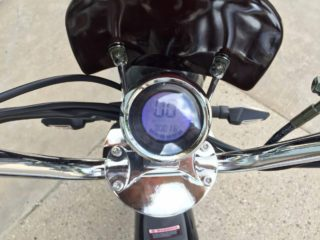 Gigabyke Groove Backlit Lcd Console Speedometer