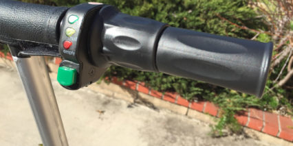 Glion Electric Scooter Twist Throttle