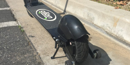 Glion Scooter Model 200 Dolly Kickstand