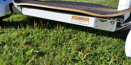 Golfboard Side View Metal Platform