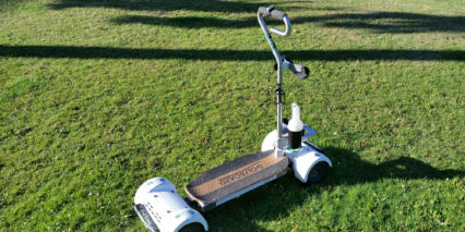 Golfboard Wood Standing Platform With Grip Tape