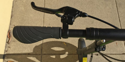 I Max S1 Plus Brake Lever Rubber Edge Integrated Bell