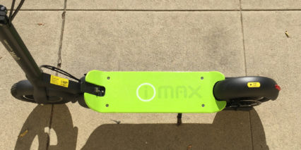 I Max S1 Plus Green Composite Deck Kickstand