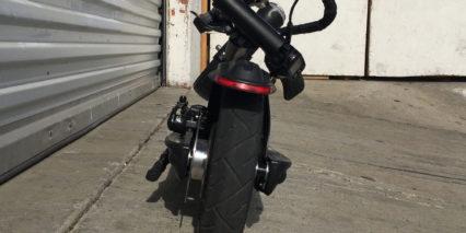 Momas E Scooter 1 0 Folded Rear View