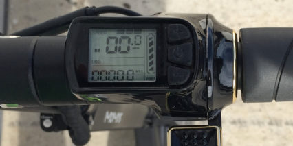 Momas E Scooter 1 0 Monochrome Lcd Display Readouts 3 Power Levels