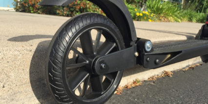 Uscooters Booster Airless Rear Tire Plastic Wheel