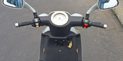 Vmoto E Max 120s Cockpit Mirrors Throttle