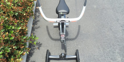 Yikebike Model V Three Wheel Stability Training Setup